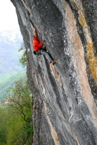Die Route Survival of the Fittest 7c.