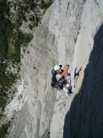 Dalla Germania in Albania per sfidare il monte Arapi